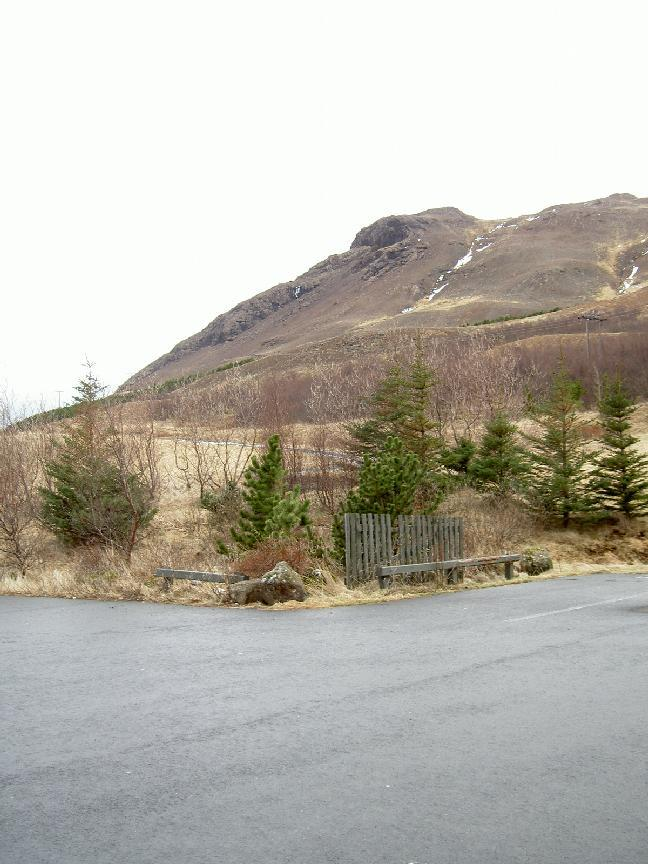 View from road 1 out of Reykjavik (going north) (purpose of page is to display an image)