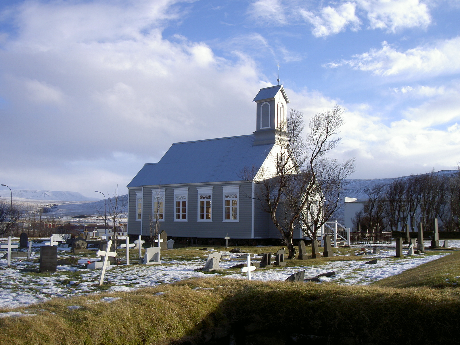 Old church in Reykholt (purpose of page is to display an image)