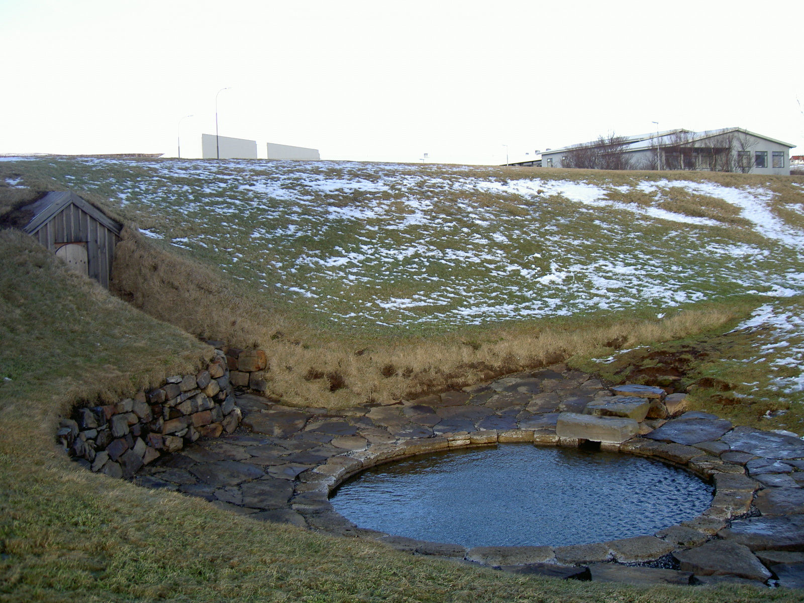 Snorralaug, the pool of Snorri Sturluson (purpose of page is to display an image)