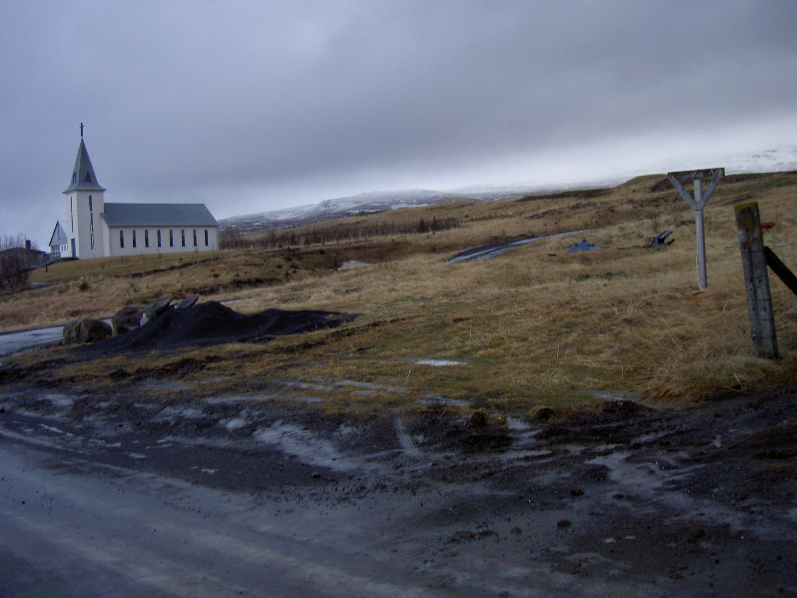 Church in Hvammstangi, Northwest Iceland (purpose of page is to display an image)