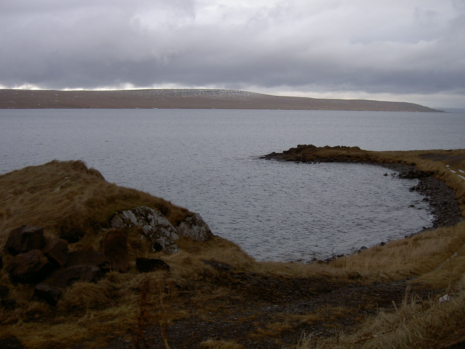 View of the sea from Hvammstangi (purpose of page is to display an image)
