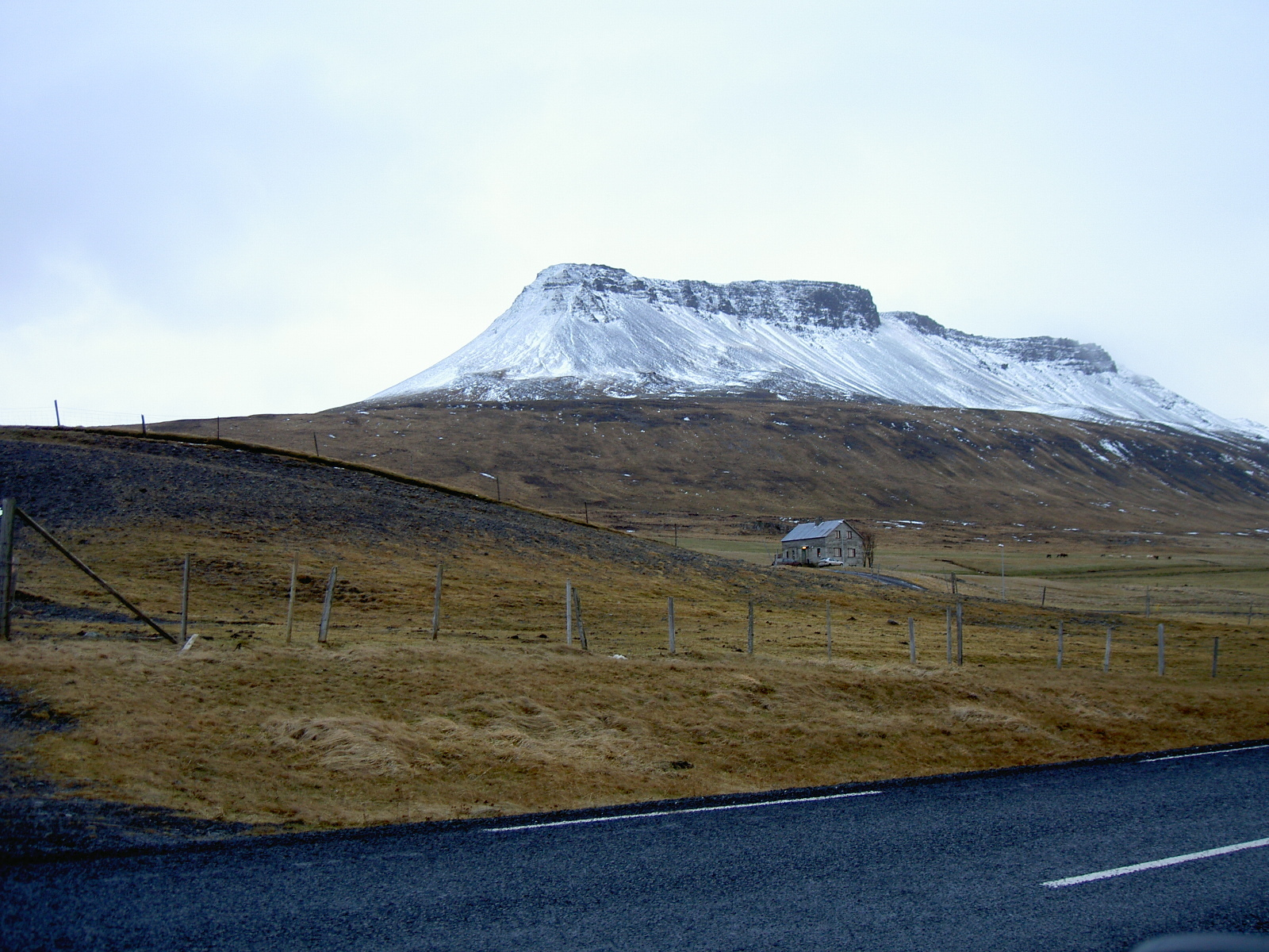 Driving south on road 1 from Northwest Iceland (purpose of page is to display an image)