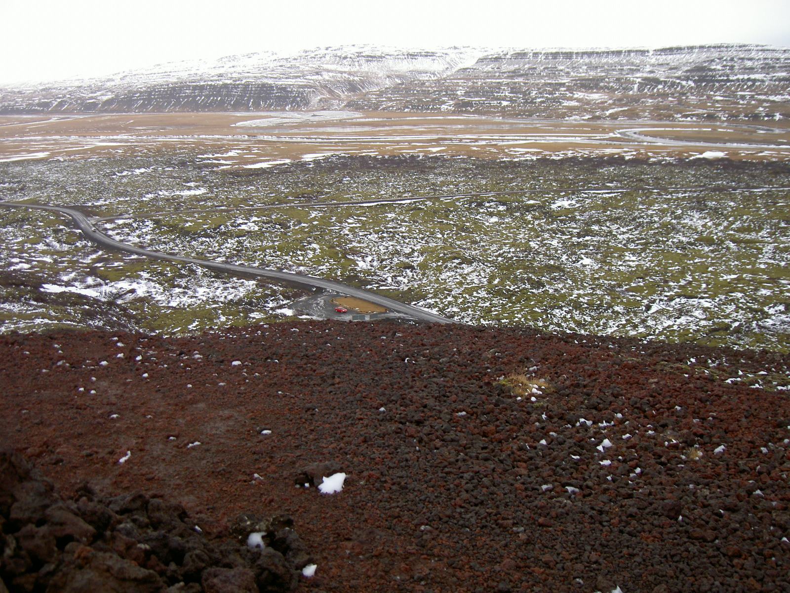 View from Grabrok crater (purpose of page is to display an image)