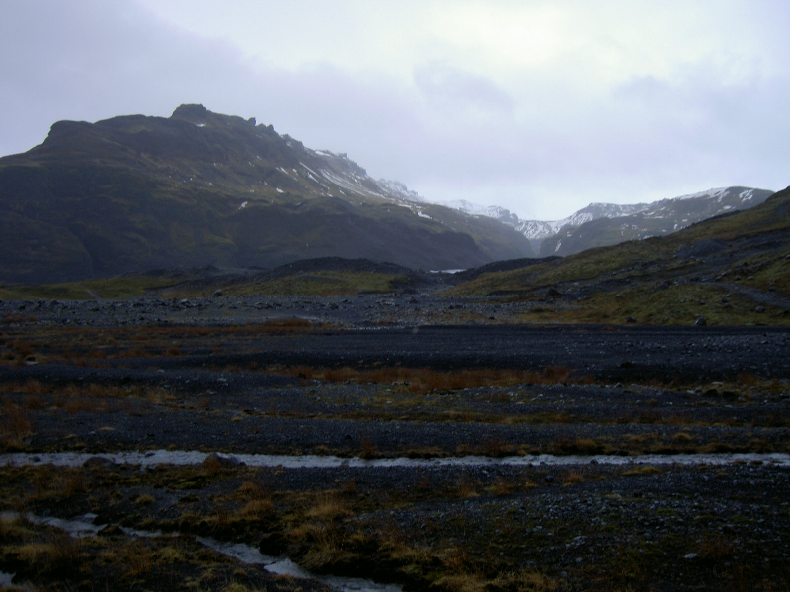 Path to Myrdals glacier (purpose of page is to display an image)