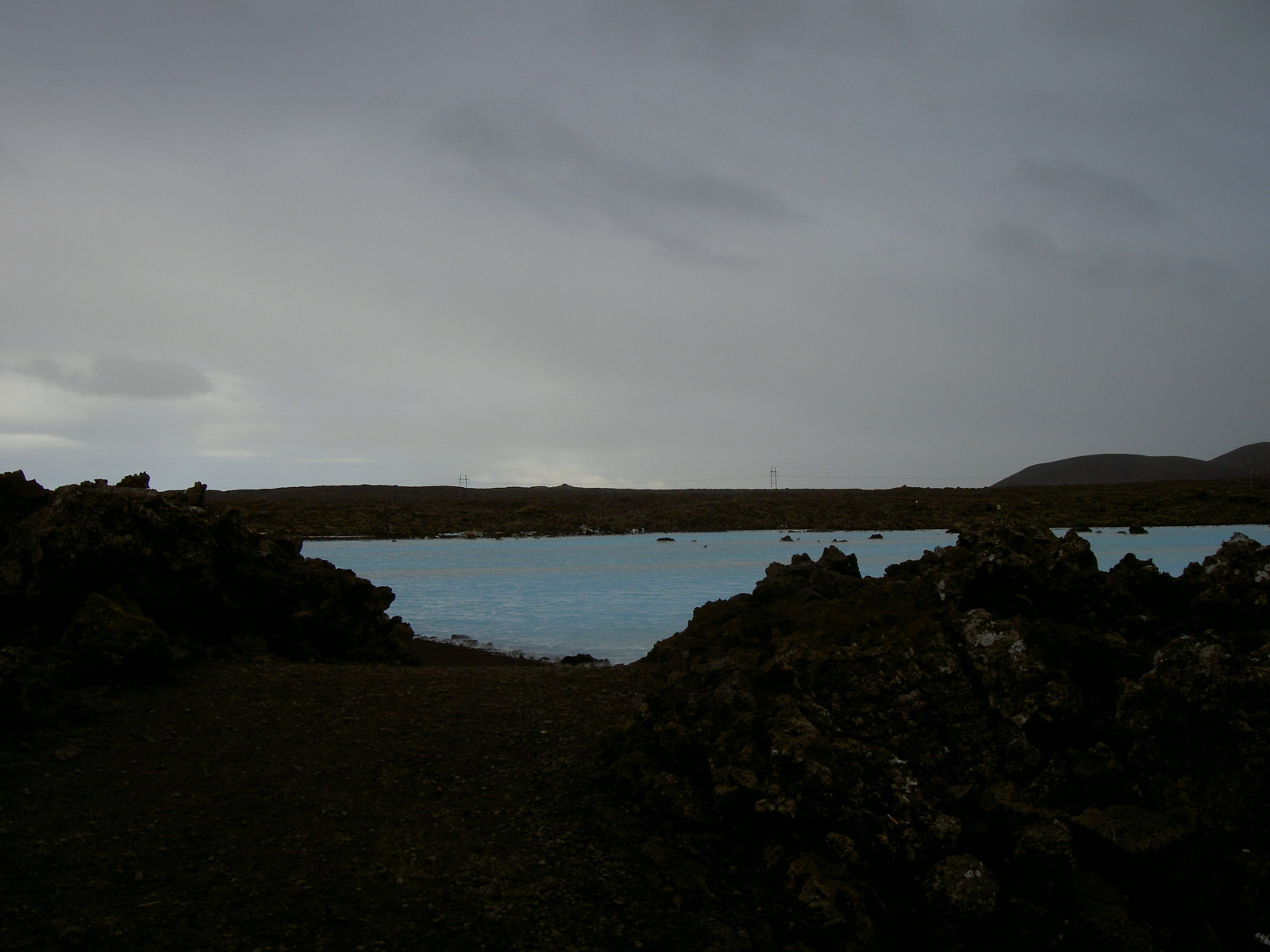 Water near the Blue Lagoon spa (purpose of page is to display an image)